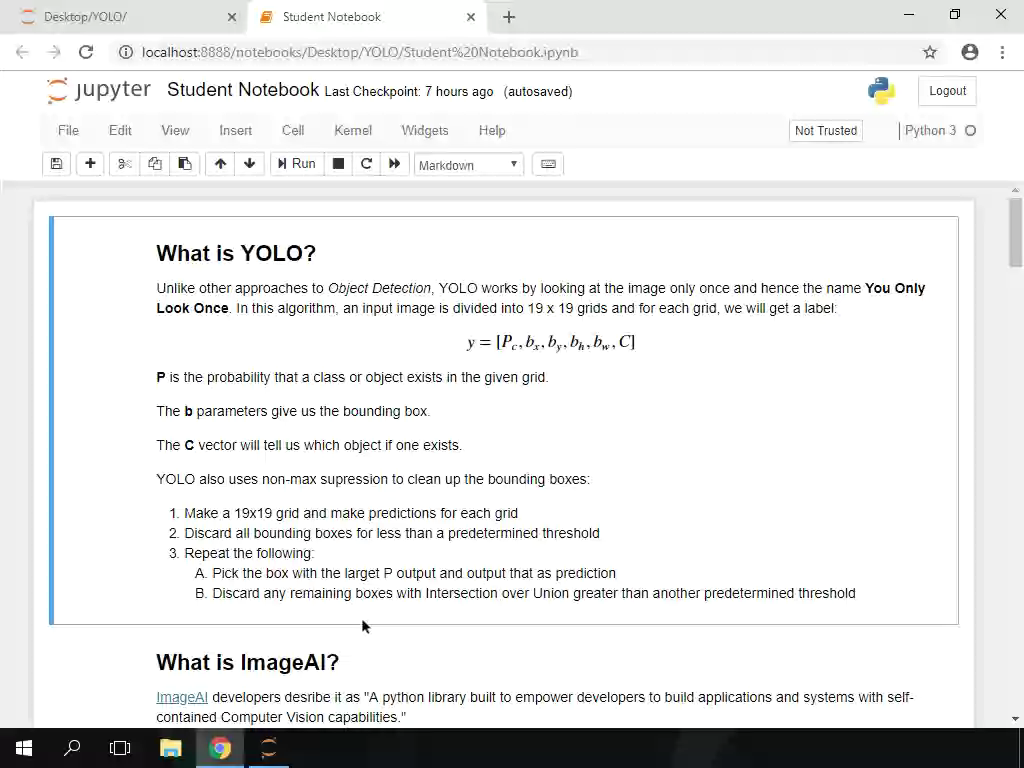 Object Detection and YOLO