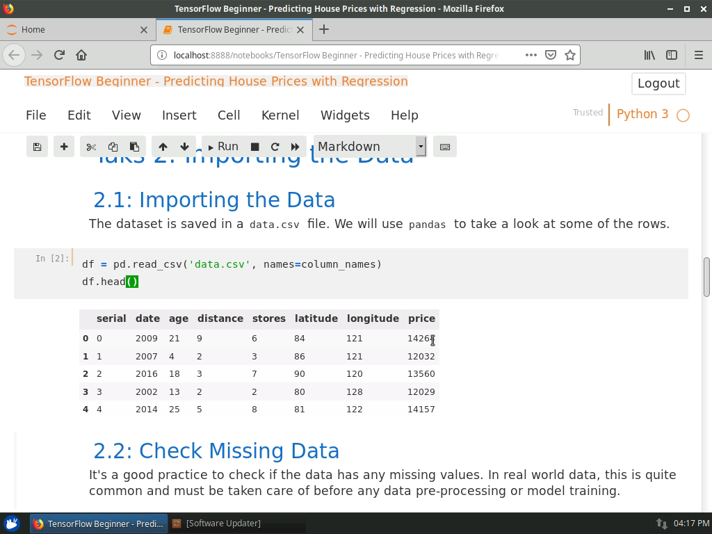 Importing the Data